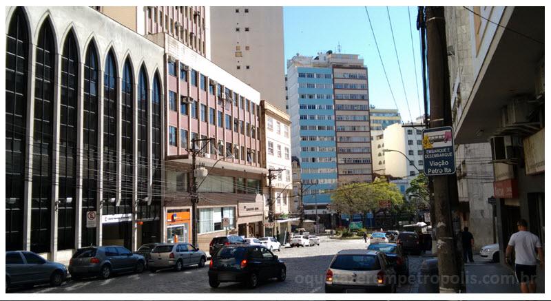 Centro da cidade de Petrópolis