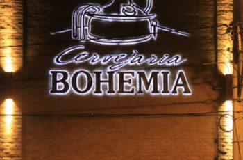 Restaurante Bohemia e Tour Interativo Fechado para obras