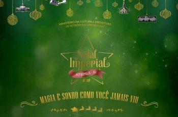 Programação do Natal Imperial 2018 em Petrópolis