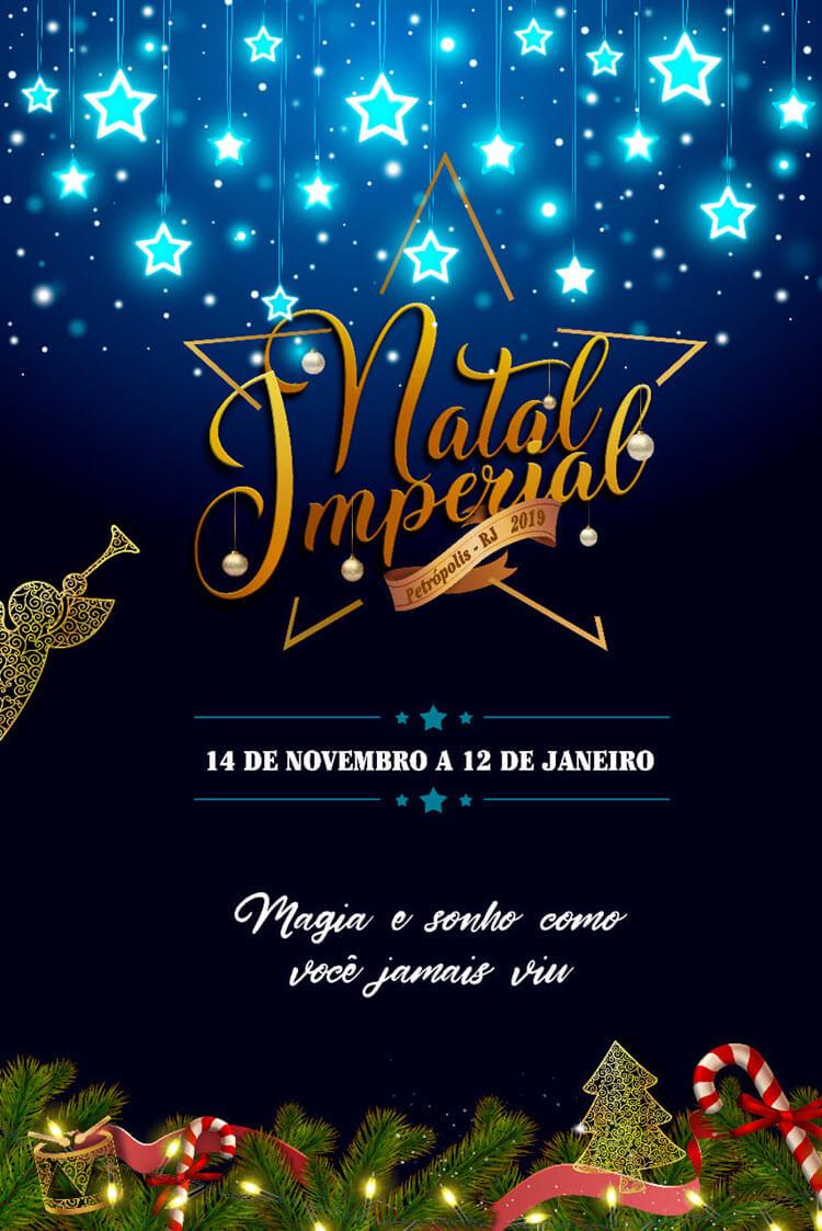 Programação do Natal Imperial 2019